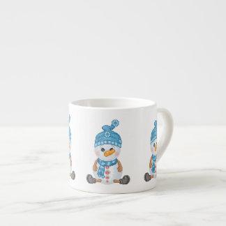 Snow Buddy Pixel Art Espresso Cup