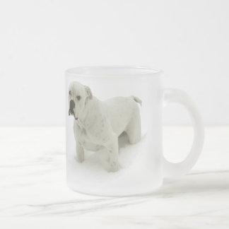 Snow Bull Frosted Mug