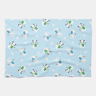 Snow Bunnies & Snow Pandas Towels
