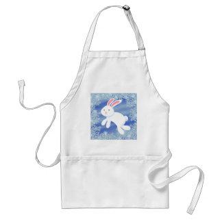 Snow Bunny Adult Apron