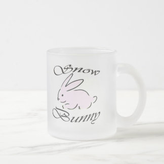 Snow Bunny, BigBlackCock Queen Of Spades2 10 Oz Frosted Glass Coffee Mug