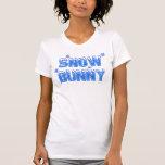Snow Bunny Blue Shirt