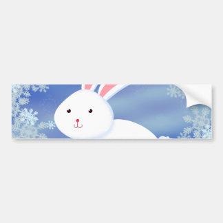 Snow Bunny Bumper Sticker