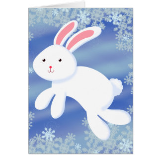 Snow Bunny Card
