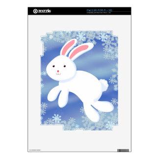 Snow Bunny Decal For iPad 2