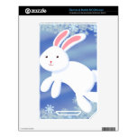 Snow Bunny Decal For NOOK Color