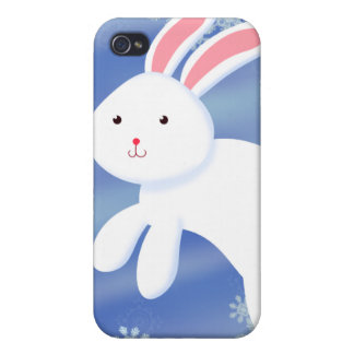 Snow Bunny iPhone 4 Cover
