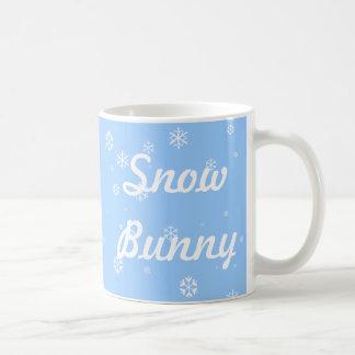Snow Bunny Classic White Coffee Mug