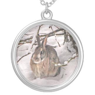 Snow Bunny Pendants