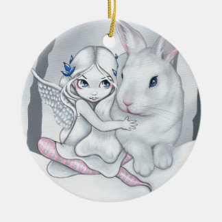 """Snow Bunny"" Ornament"