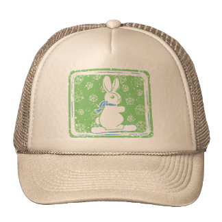 Snow Bunny Snow Boarding Trucker Hat