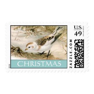 Snow-Bunting postage