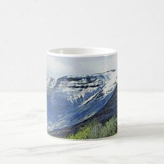 Snow by Loch Kishorn Scotland Mug