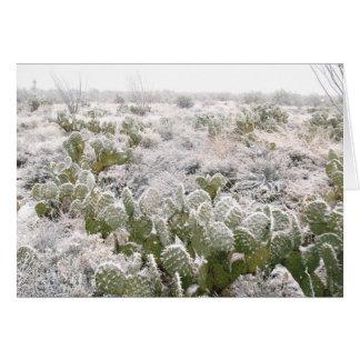 Snow Cactus Card