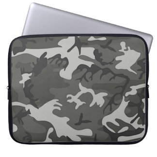 Snow Camo Laptop Sleeve