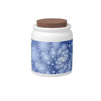 snow candy dish