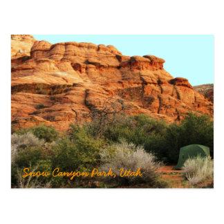 Snow Canyon Park, Utah Postcard