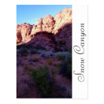 Snow Canyon Park Utah Postcards