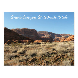Snow Canyon State Park Utah Post Cards