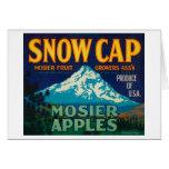 Snow Cap Apple Crate LabelMosier, OR