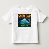 Snow Cap Apple Crate LabelMosier, OR Toddler T-shirt