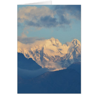 Snow Capped Dolomites Card