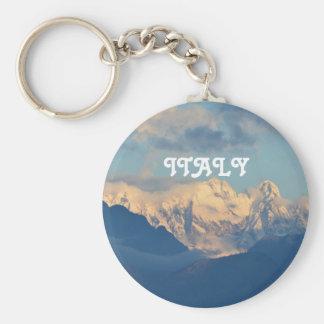Snow Capped Dolomites Keychain