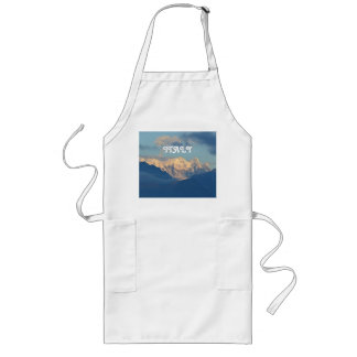 Snow Capped Dolomites Long Apron