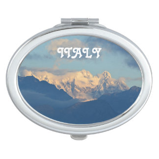 Snow Capped Dolomites Mirror For Makeup