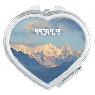 Snow Capped Dolomites Vanity Mirror