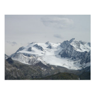 Snow Capped Mont Blanc Postcard