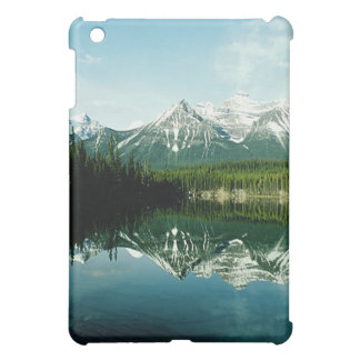 Snow Capped Mountain Range Landscape Photo Cover For The iPad Mini