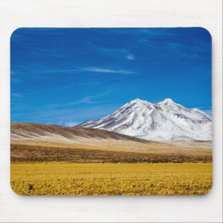 Snow - Capped Mountains And Puna Grassland Mouse Pad