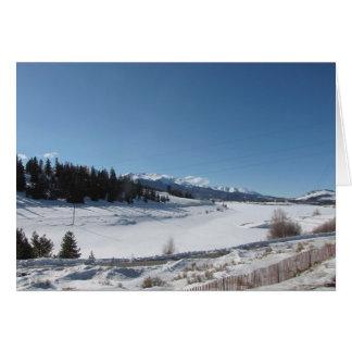 Snow-Capped Peaks Card