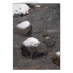 Snow Capped Rocks Cards