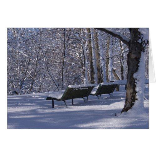 Snow Card card