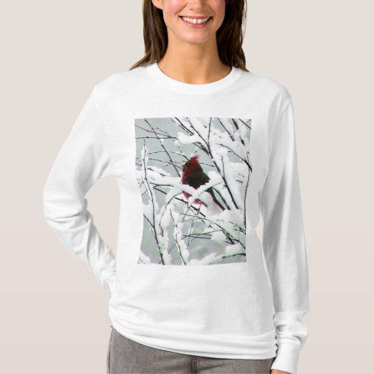 Snow Cardinal T-Shirt
