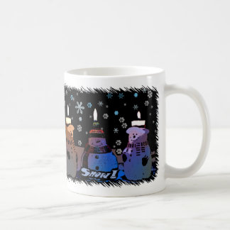 Snow! Cartoon Christmas Mug