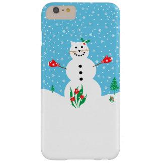 """Snow Cat"" Winter Phone Case"
