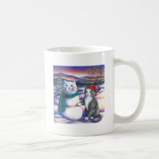 Snow Cats Coffee Mug