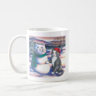 Snow Cats Mugs
