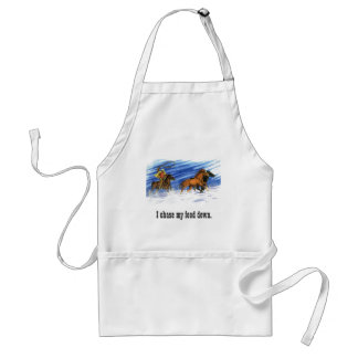 Snow Chase Adult Apron
