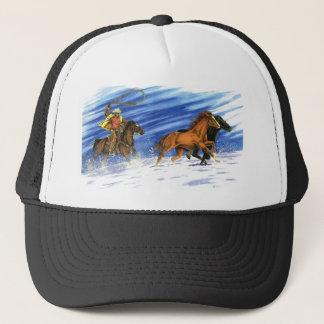 Snow Chase Trucker Hat