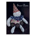 Snow Clown Card