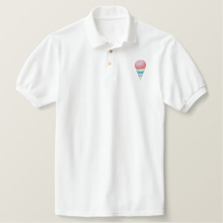 Snow Cone Embroidered Polo Shirt