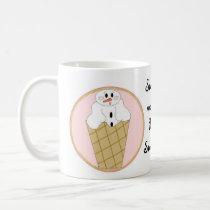 Snow Cone Treat Coffee Mug