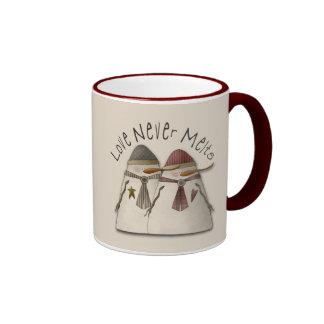 Snow Couple Mugs