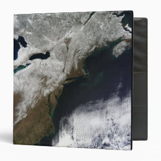 Snow cover stretching from Canada Binder