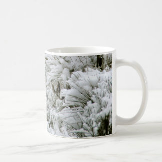 Snow Covered Branches Classic White Coffee Mug