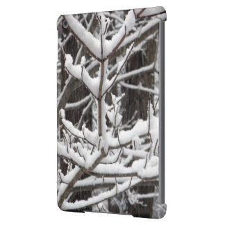 Snow-covered Branches iPad Air Case